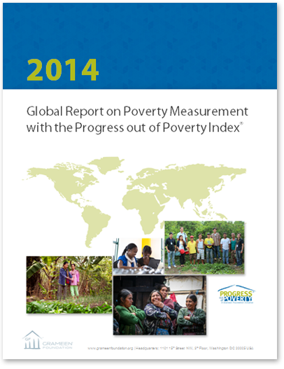 Global Report on Poverty Measurement with the Progress out of Poverty Index
